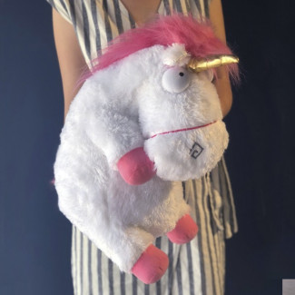 Large Unicorn Plush Toy