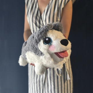 Husky Plush Toy