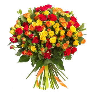"Bouquet ""Love Flame"""
