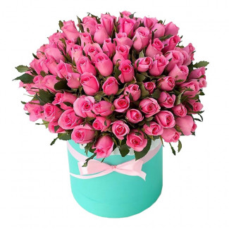 "Flowers in a Box ""Pink Lady"""