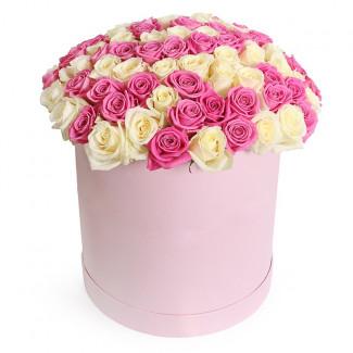 """Цветы в коробке """"Клубничный..."""
