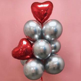 "Helium Balloons ""Metallic..."