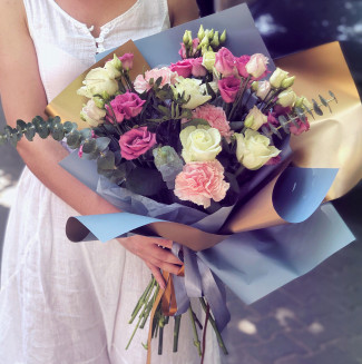 "Bouquet ""Blue gold"""