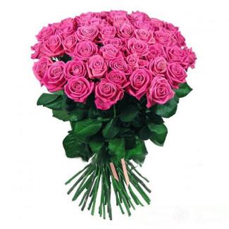 51 de Trandafiri Roz