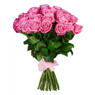 25 de Trandafiri Roz