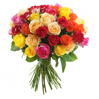 51 Assorted Roses